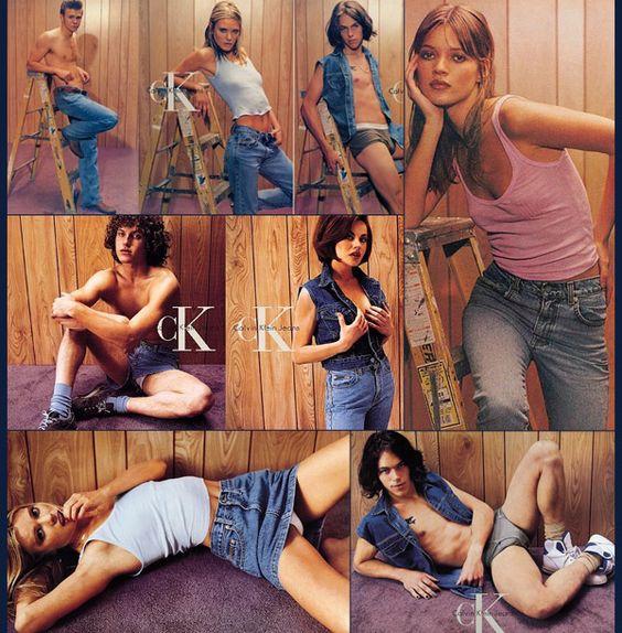 Calvin Klein Controversa campagna pubblicitaria
