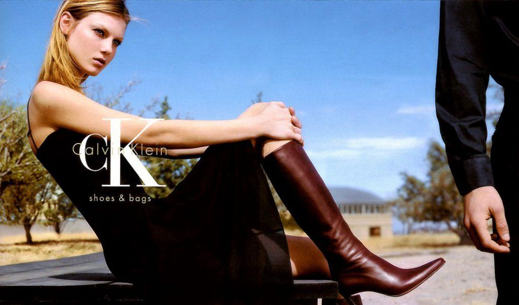 Calvin Klein Campagna calzature-borse 2000