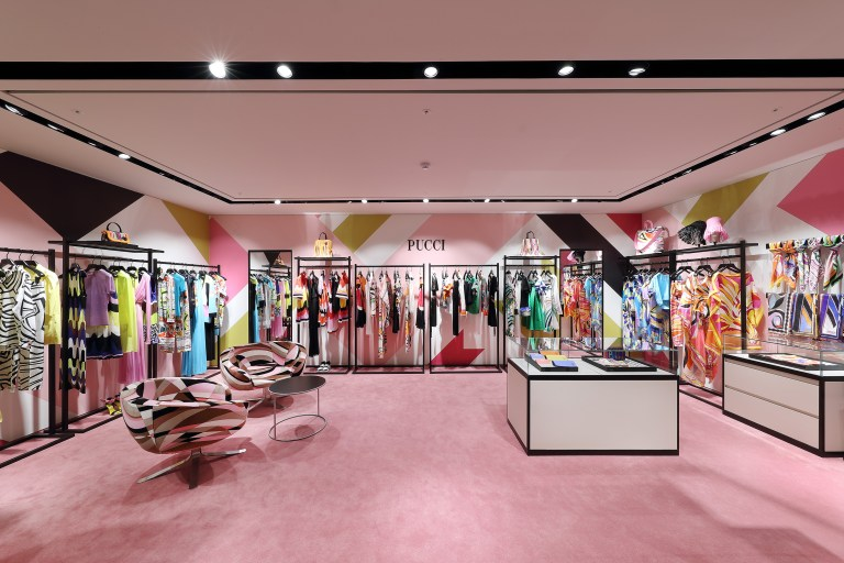 Emilio Pucci Boutique a Seoul, Korea