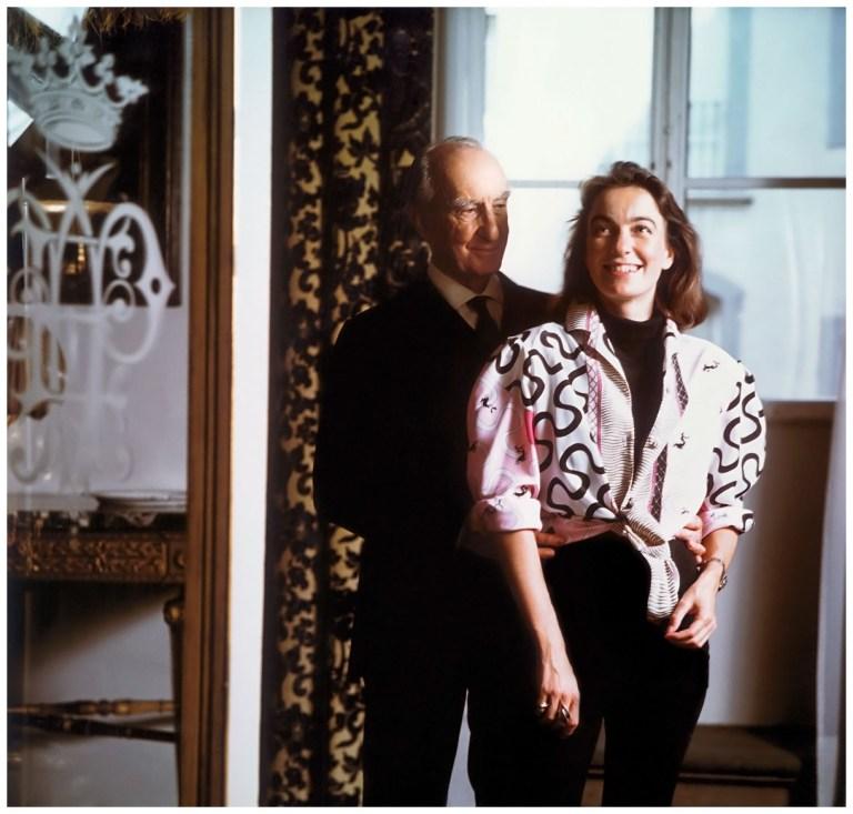 Emilio Pucci Emilio Pucci con la figlia Laudomia