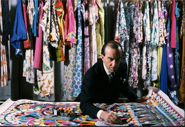 Mame Fashion Dictionary: Emilio Pucci nel suo ufficio