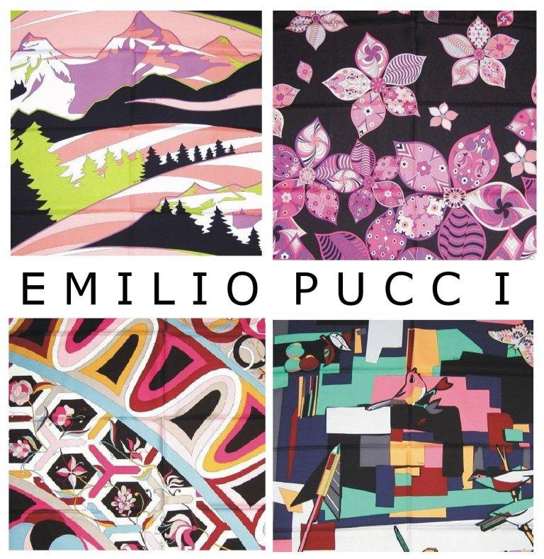 Emilio Pucci Fantasia stampata Pucci