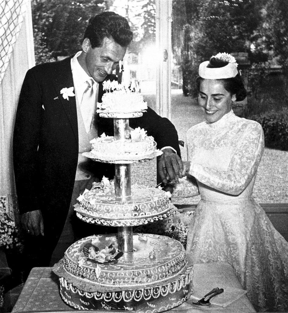Dizionario della Moda Mame: Missoni. Il matrimonio di Ottavio e Rosita, 1953.