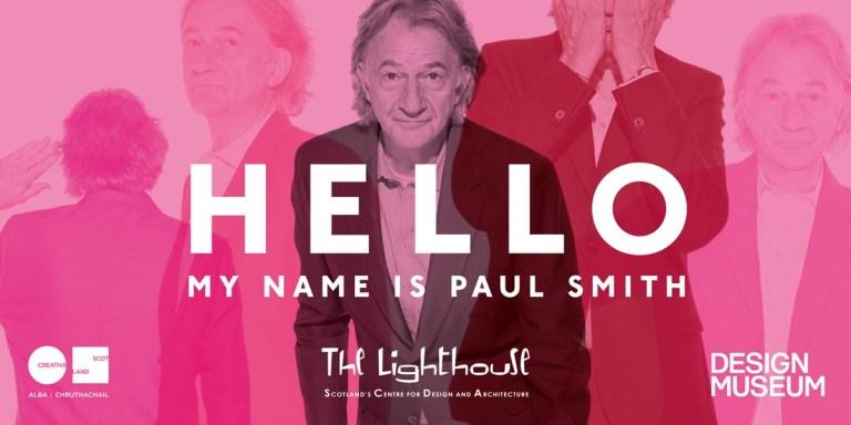 """Dizionario della Moda Mame: Paul Smith. La mostra """"Hello, my name is Paul Smith""""."""