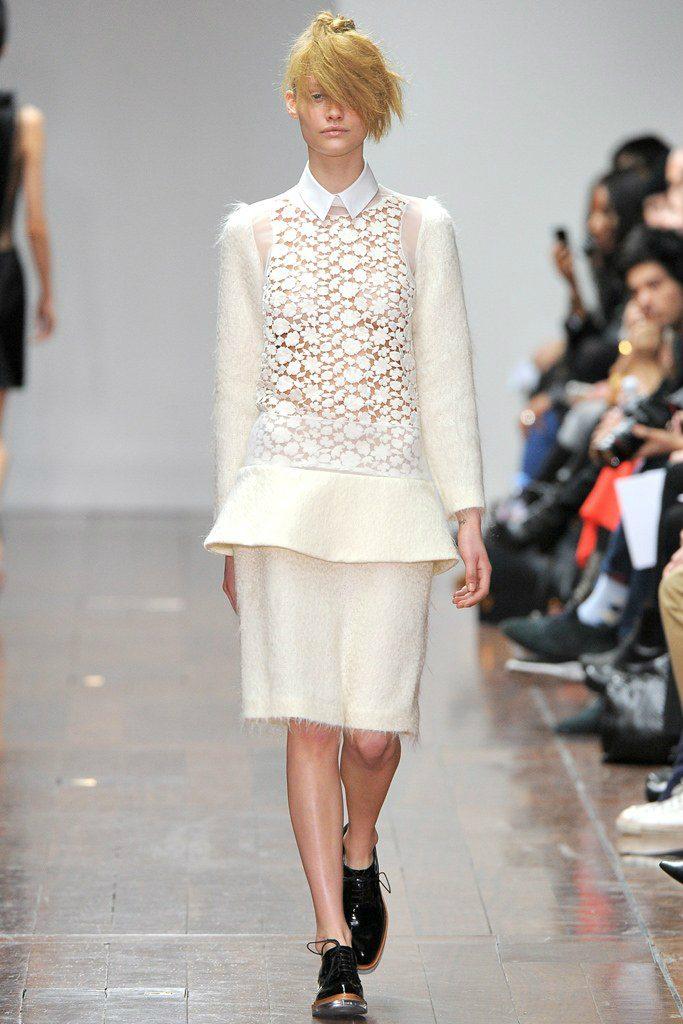 Simone Rocha Look della prima collezione Simone Rocha Fall 2012