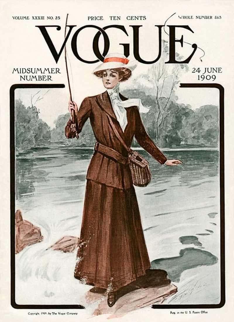 Vogue, 24 Giugno 1909