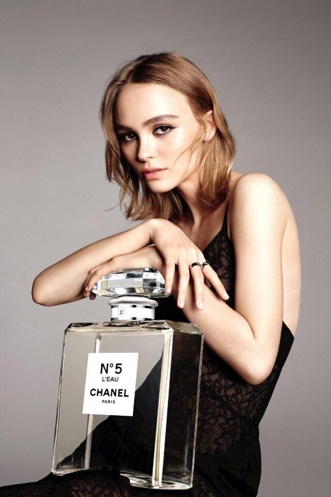 Lily Rose Depp x Chanel n.5