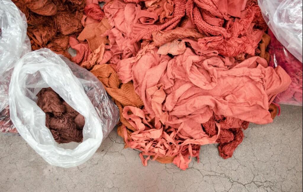 tessuti riciclati da Rifò
